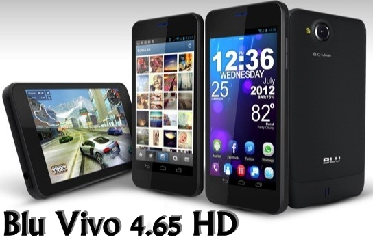 Blu Vivo 4.65 HD phone