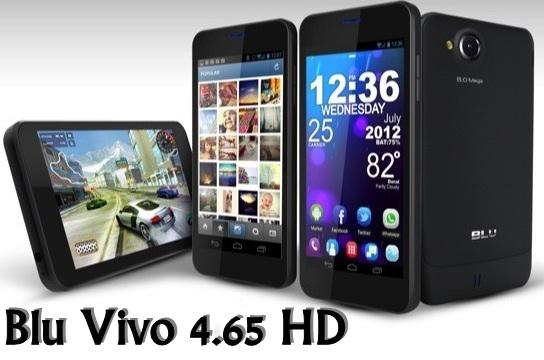 Blu Vivo 4.65 HD phone