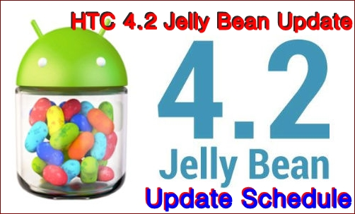 HTC Jelly Bean Update