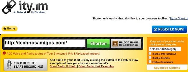Ity.Im Link shortening