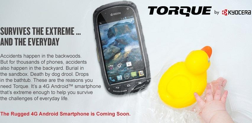 Kyocera Torque E6710 phone
