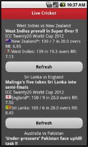 Live Cricket Score & Widget