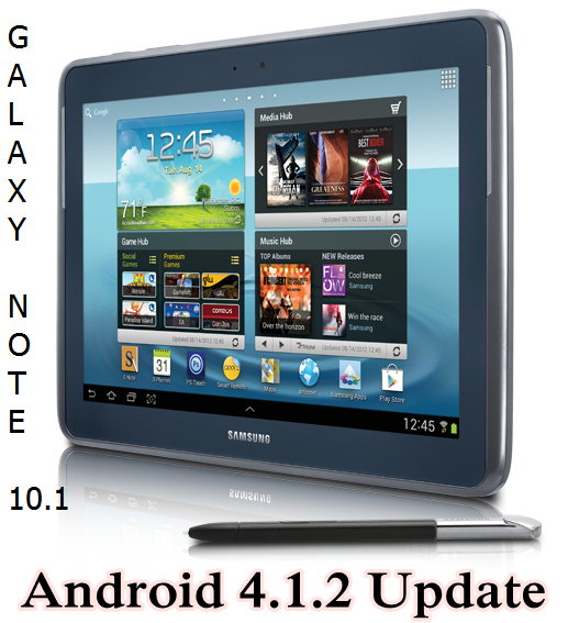 Samsung Galaxy Note 10.1 Android 4.1.2