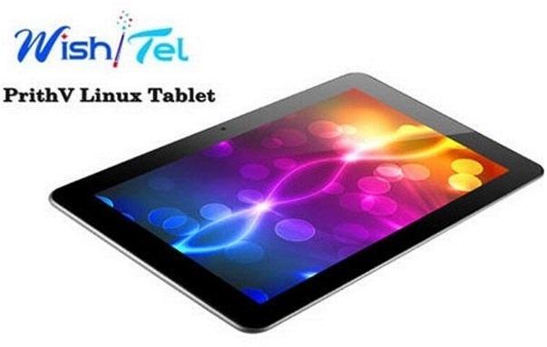 WishTel Prithv tablet