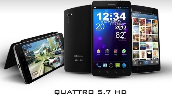 Blue Quattro 5.7 HD