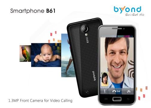 Byond B61 smartphone