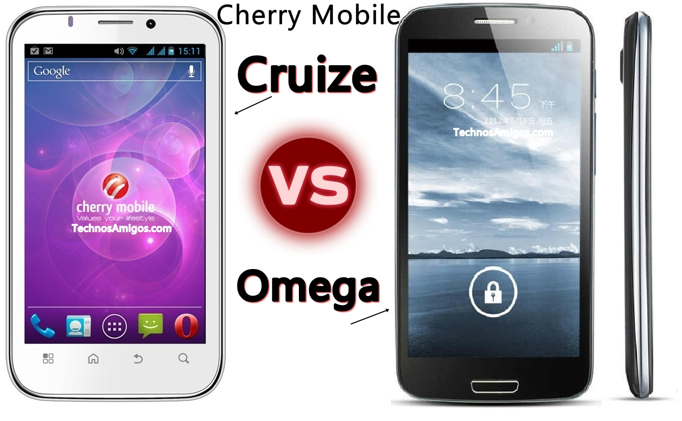 Cherry Mobile Omega vs Cruize