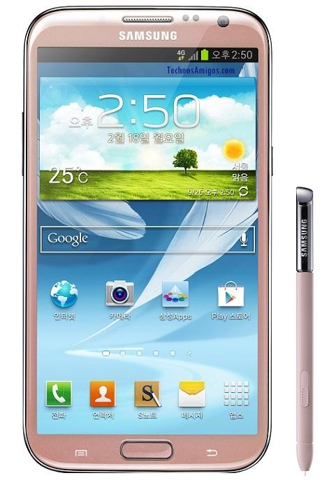 Galaxy Note  II Pink