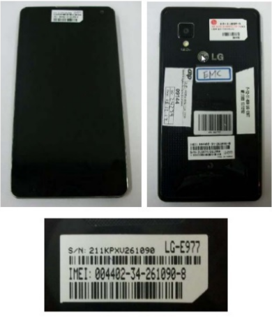 LG Optimus G E977 Phone