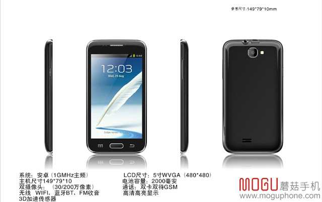 Mogu S1 Cheap Phablet Phone