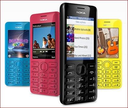 Nokia Asha 206 phone