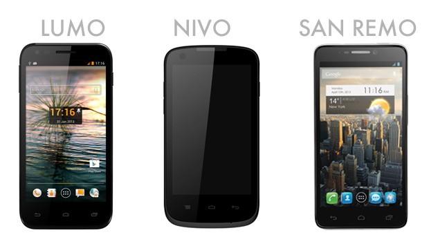 Orange Lumo, Nivo & San Remo Phones