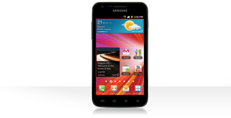 Rogers Samsung Galaxy S2 LTE