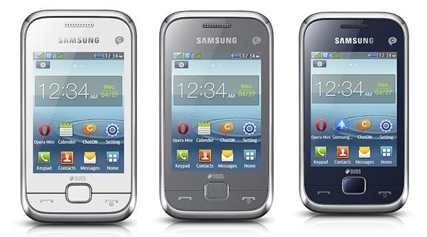 Samsung Rex 60 Phone