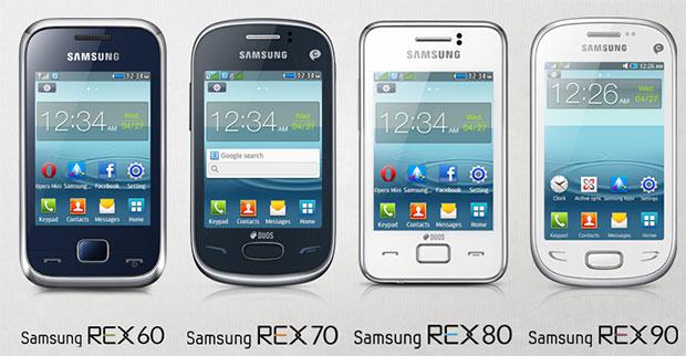 Samsung Rex Phone