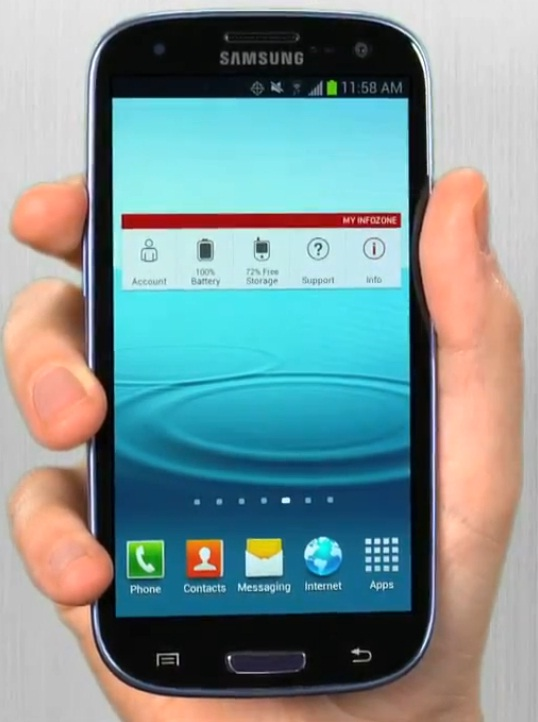 Verizon MyInfoZone app