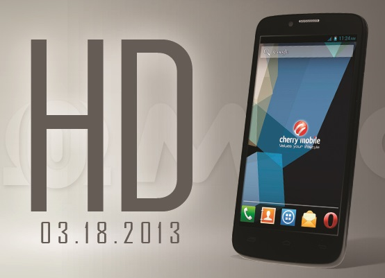 Cherry Mobile Omega HD launch