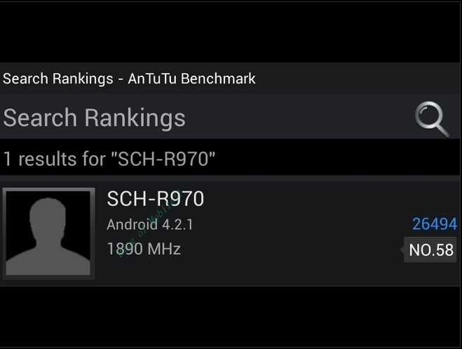 Galaxy S4 Benchmark Results