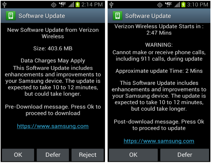 Galaxy Steller Android 4.1