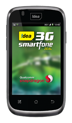 Idea Zeal 3G Android phone
