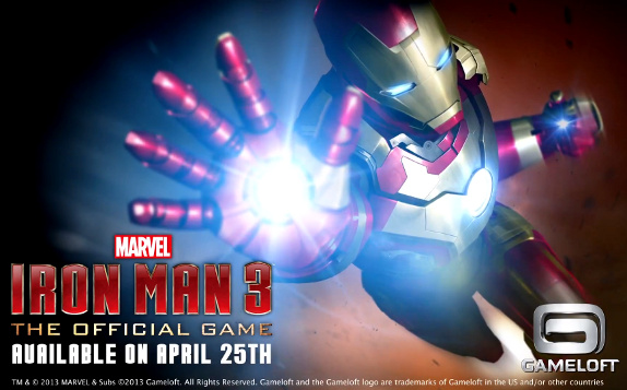 Iron Man 3 Official Game