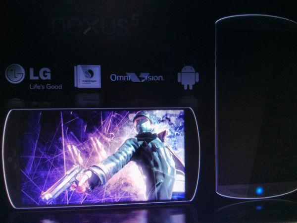 LG Nexus 5 phone