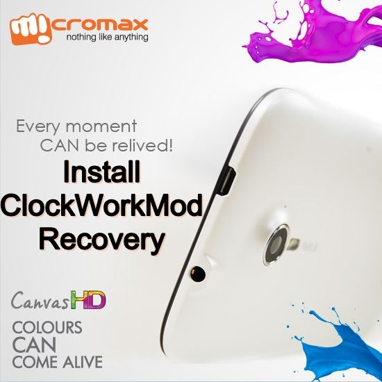 Micromax A116 CWM Recovery