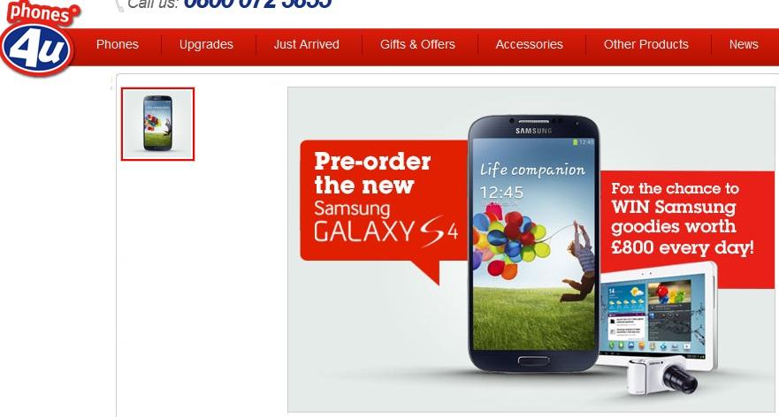 Phone4u Samsung Galaxy S4