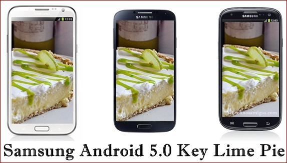 Samsung Galaxy Android 5.0 Update