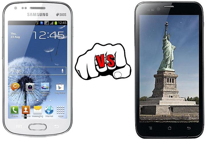 Samsung Galaxy Grand Duos vs Karbonn Titanium S5