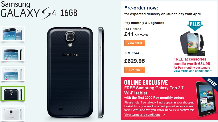 Samsung Galaxy S4 CarPhone