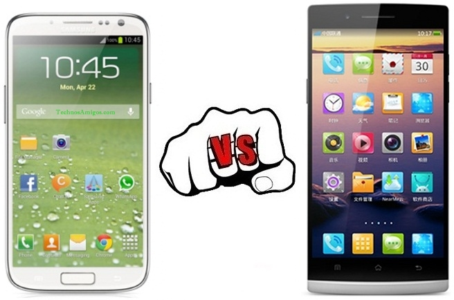 Samsung Galaxy S4 vs Oppo Find 4
