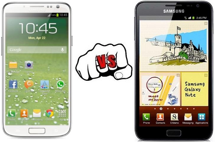 Samsung Galaxy S4 vs Samsung Galaxy Note