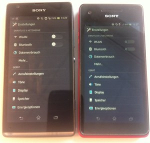 Sony XPeria SP Phone