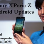 How to Update Sony XPeria Z with Latest Firmware Update