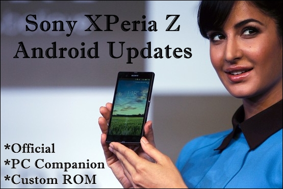 Sony XPeria Z Official update