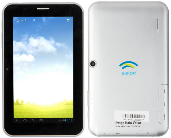 Swipe Halo Value tablet