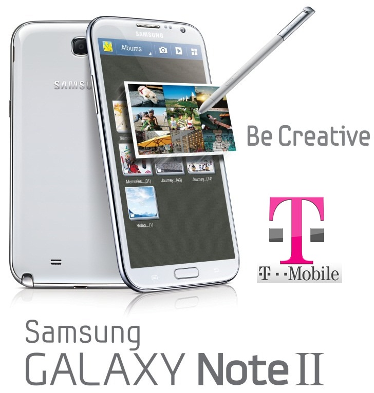 T-Mobile's Galaxy Note II SGH-T889