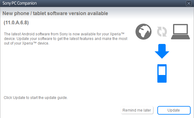 Sony Xperia Tipo gets Android 4.1 Jelly Bean Update