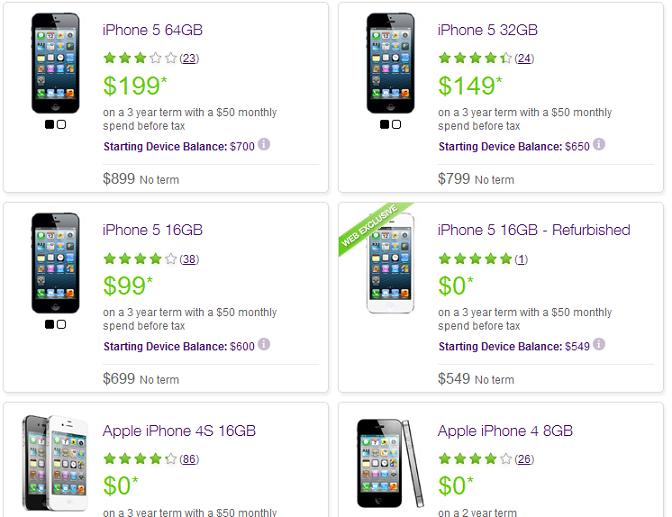 iPhone 5 Telus