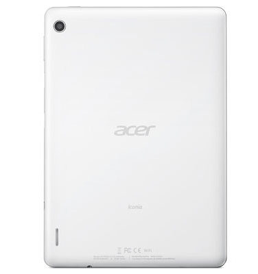 Acer Iconia A1-810 rear full