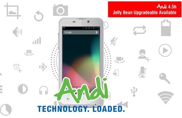 Andi 4.5H Jelly Bean update