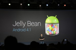 Android 4.1 Jelly Bean update