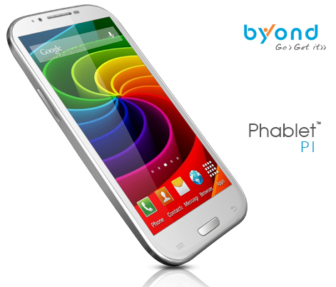 Byond Phablet P1 Phone