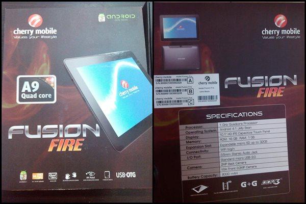 Cherry Mobile Fusion Fire
