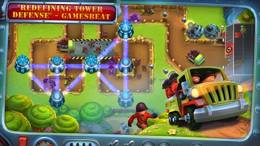 FieldRunners 2 Android game