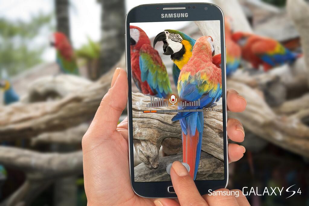 Galaxy S4 Sound & Shot