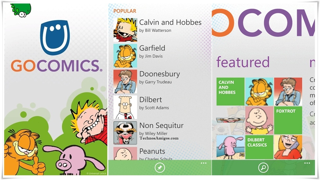 GoComics App Windows