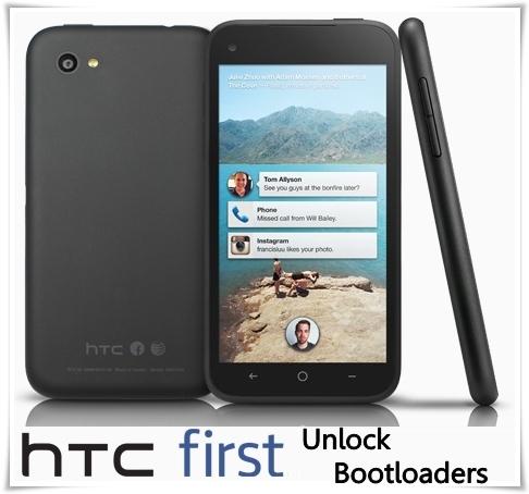 HTC First Unlock Bootloader