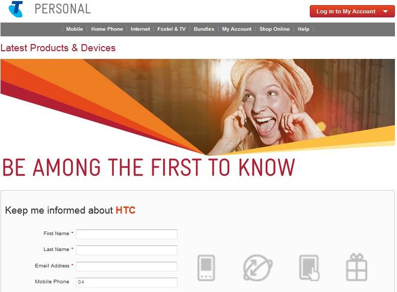 HTC One Telstra